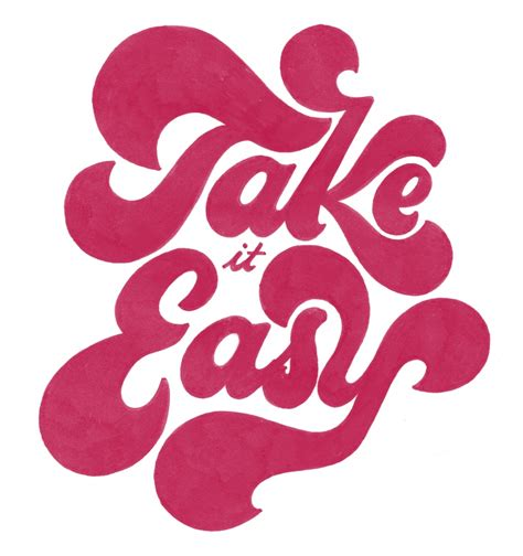 Take It Easy the phraseology project