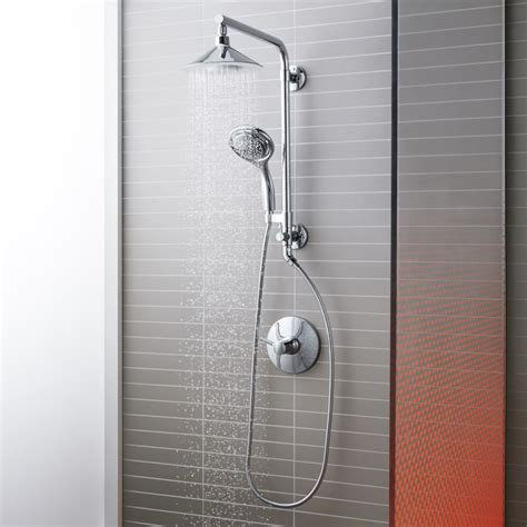 Kohler Showers by Kohler Moxie Hydrorail Custom Shower System Shower System