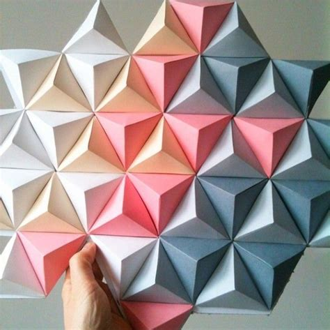 Origami Newspaper - best 25 origami decoration ideas on