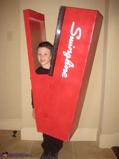 human stapler costume homemade mom  boys