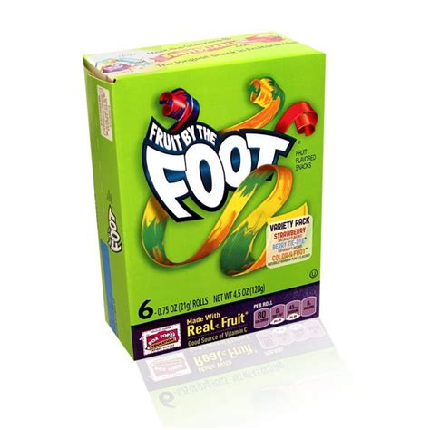 fruit by the foot fruit by the foot variety pack by betty crocker 128g