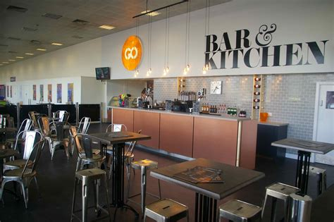 GO! Bar and Kitchen, John Lennon Airport, Liverpool Northern Backdrop