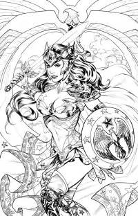 dc a coloring book dc comics colouring book variant covers 23