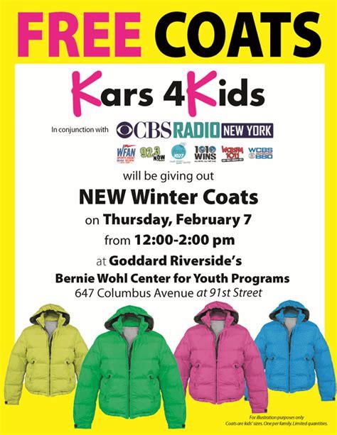 Coat Giveaway - kars for kids programs kars4kids coat giveaway