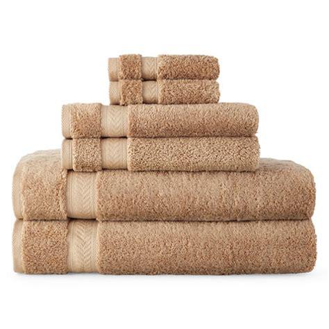 Bath Towels Royal Velvet Royal Velvet 174 Luxury Cotton Loops 6 Pc Bath