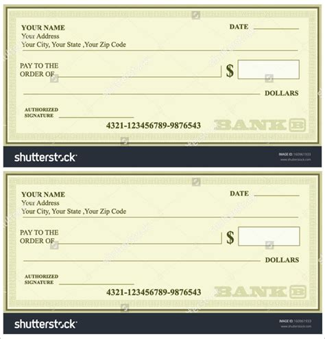 joke cheque template image collections templates design