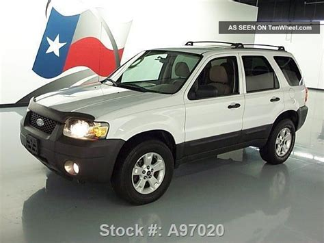 2005 ford escape xlt awd cruise roof rack 91k