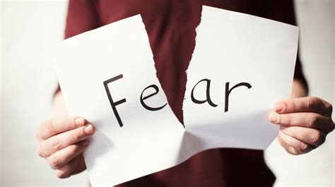 how to a fearful fear not how to stop feeding fear and overcome it