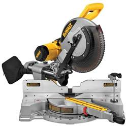 chop saw home depot dewalt 15 12 in dual bevel sliding compound miter saw