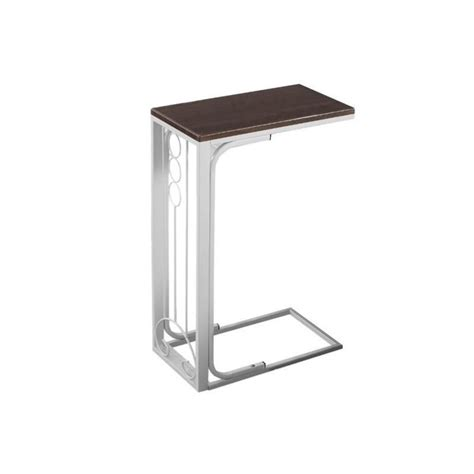 accent table in cherry and antique white i 3136