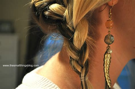 wrap around french side braid hair style tutorial wrap around french braid crafts