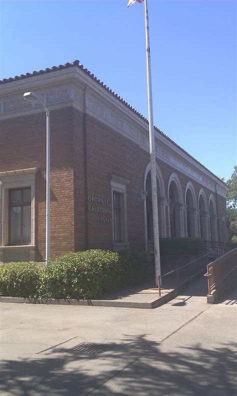 Oroville Post Office by Oroville Ca 80 Yr Post Office Photo Picture Image