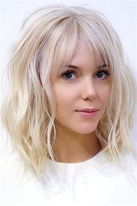 Easy Hairstyles For Medium Hair With Bangs by 102284 Best Hairstyles To Try Images On