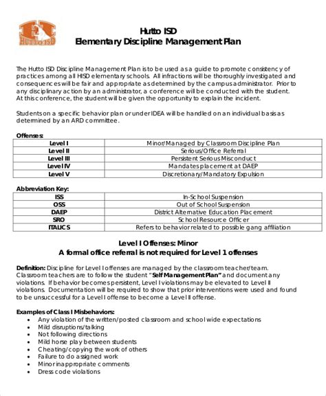 10 Classroom Management Plan Templates Free Sle Exle Format Download Free Premium Classroom Management Plan Template