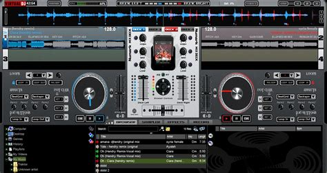 numark cue dj software free download full version numark mix deck skin v 1 for virtualdj 7 djhendryshare