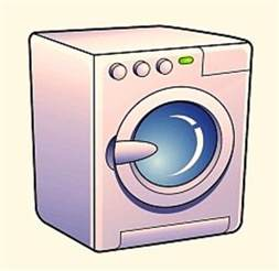 wash machine washing machine clipart