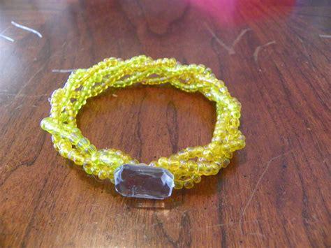 bold braided seed bead bracelet allfreejewelrymakingcom