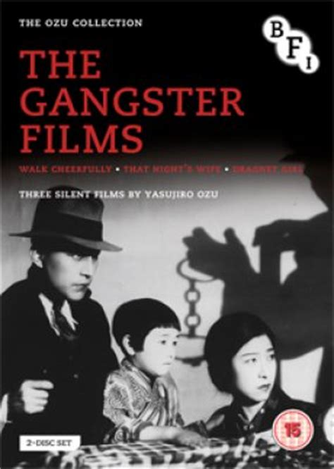 gangster film directors the ozu collection the gangster films dvd bfi