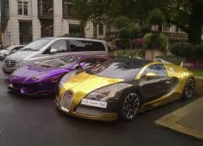 Bugatti Veyron Wrapped Bugatti Veyron Quot Gold Wrapped Quot Lamborghini Avent Flickr