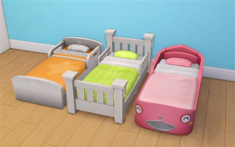 sims 3 toddler bed my sims 4 blog toddler bed recolors by noodlescc
