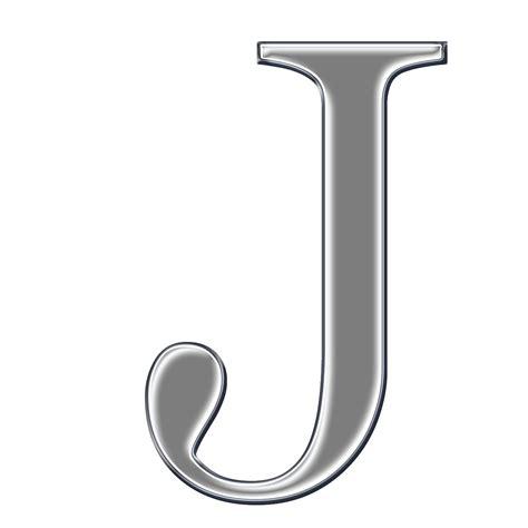 Capital Letter J J