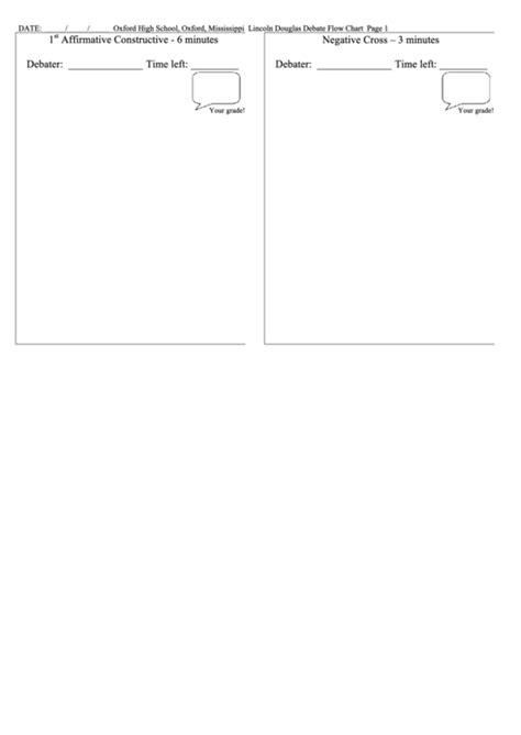 debate flow template top debate flow templates free to in pdf format