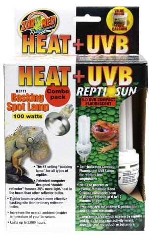 zoo med heat l zoo med heat and uvb combo pack