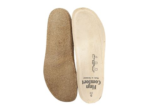 finn comfort insoles finn comfort classic soft wedge insole at zappos com