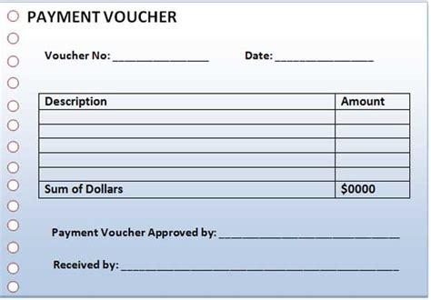 payment voucher template salary payment voucher template
