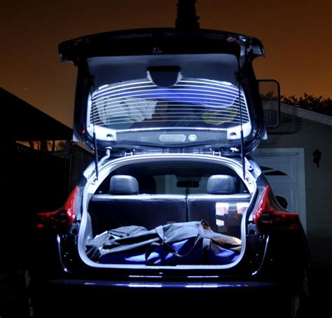 Lu Led Nissan Juke just installed led lights in the carge area