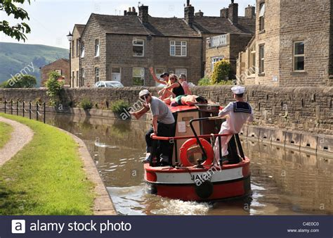 buy a boat leeds young people having fun on a canal boat leeds and