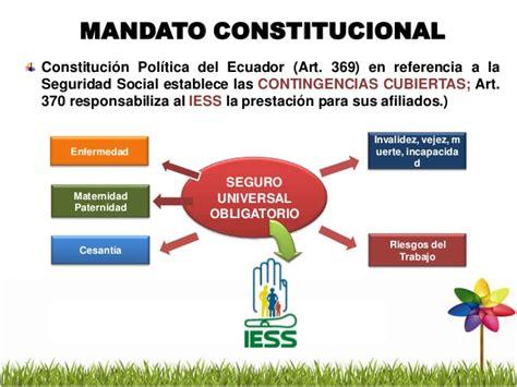 ley de seguridad social ecuador actualizada 2012 sgrt presentaci 243 n iess 2012