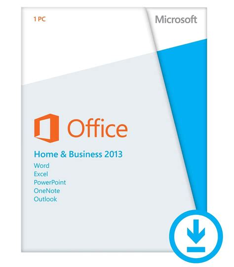 office microsoft 2013 office 2013 home and business t5d 01575