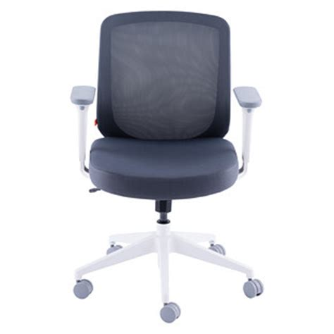 grey poppin max task chair
