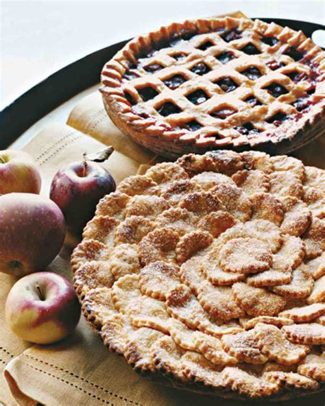 Handmade Pies - spiced apple pie with fluted cutouts recipe martha