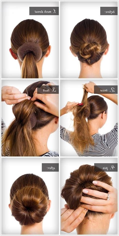 Hairstyles Buns Step By Step by Step By Step Bun Hairstyles With Pictures Hairstyle