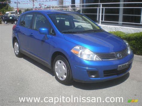 nissan versa blue 2008 sapphire blue nissan versa 1 8 s hatchback 15580351