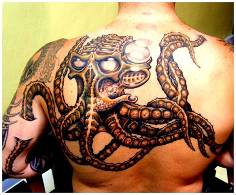 octopus tattoos for men tons of octopus designs to your mind