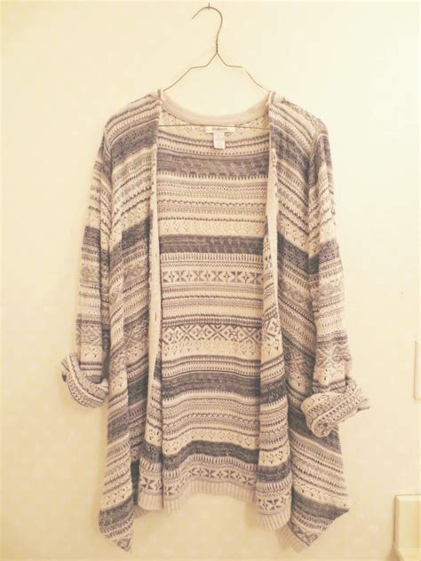 tribal pattern cardigan sweater oversized tribal knit cardigan on storenvy