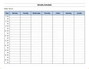 Free Employee Weekly Schedule Template by Printable Free Weekly Calendar Calendar Template 2016