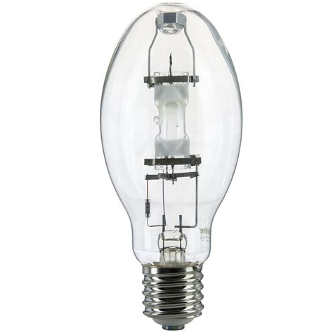 mogul base light bulb 175w mh175 u ed28 mogul base clear metal halide bulb