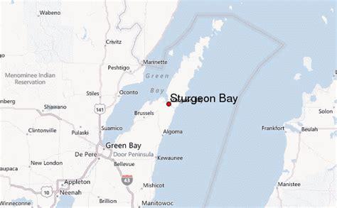 sturgeon bay location guide