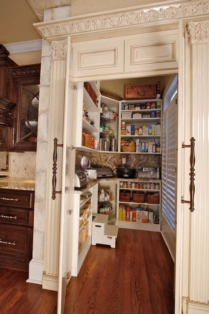 Country Pantry by Traditional Kitchen