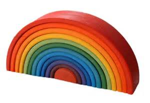 rainbow puzzle giant wooden stacking nesting rainbow puzzle germ