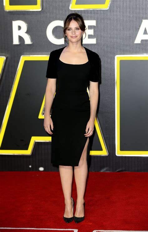 The Premiere by Felicity Jones Wars The Awakens Premiere In