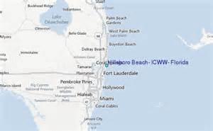 hillsboro florida map hillsboro icww florida tide station location guide