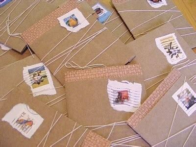 How To Make A Package Out Of Paper - brown paper package cards 183 how to make a notecard letter