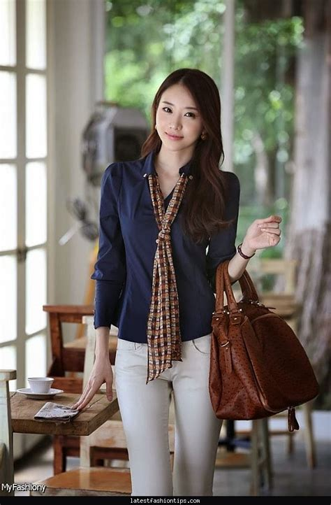 model busana santai trendy fashion style korean 2016 latestfashiontips com