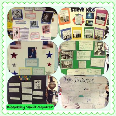 biography poster board ideas reading royalty biography projects