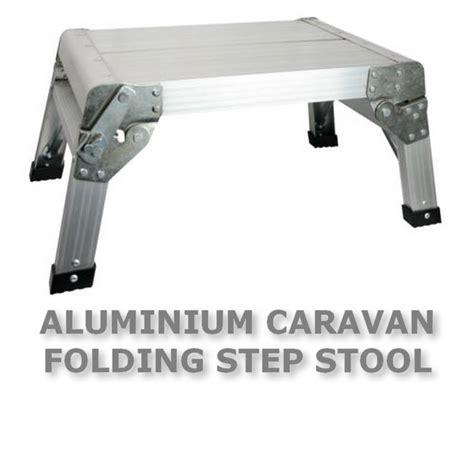 Aluminum Rv Step Stool by Caravan Aluminium Folding Step Stool Motorhome Cer Rv